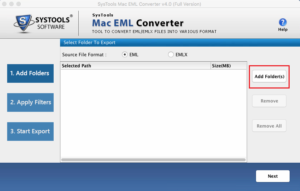 import eml to mac os x