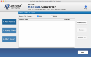 export eml to apple mail